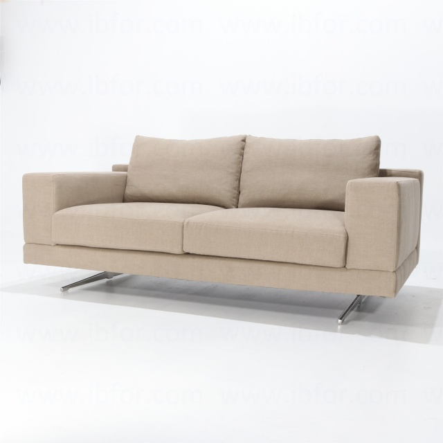 2 Seater Linear Sofa With Steel Base